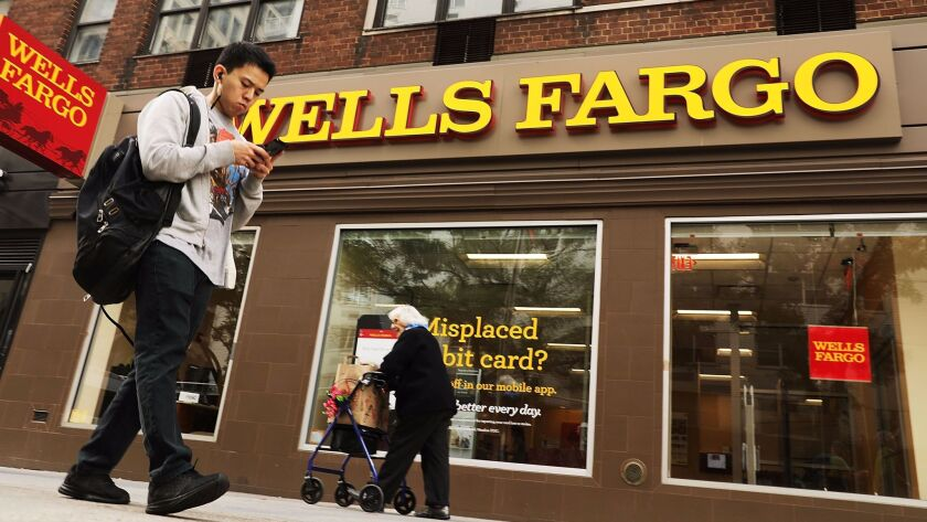 Wells Fargo will pay $3.4 million in restitution to brokerage customers who were sold complicated securities that not even Wells Fargo brokers understood. Above, a Wells Fargo branch in New York.