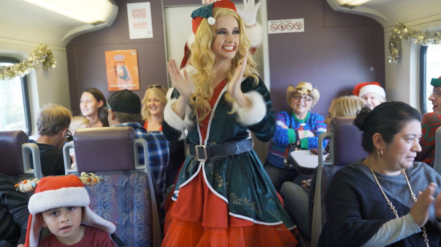 Metrolink Christmas Train 2020 Metrolink's Holiday Express trains bring weekend rides to the L.A.