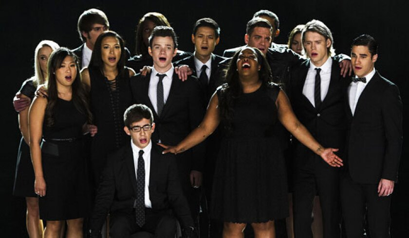 The cast of 'Glee' mourn the passing of Cory Monteith.