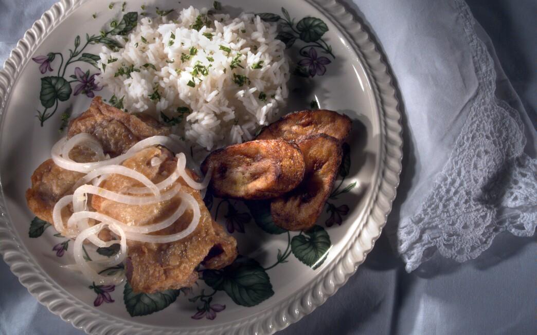 Cuban fried chicken