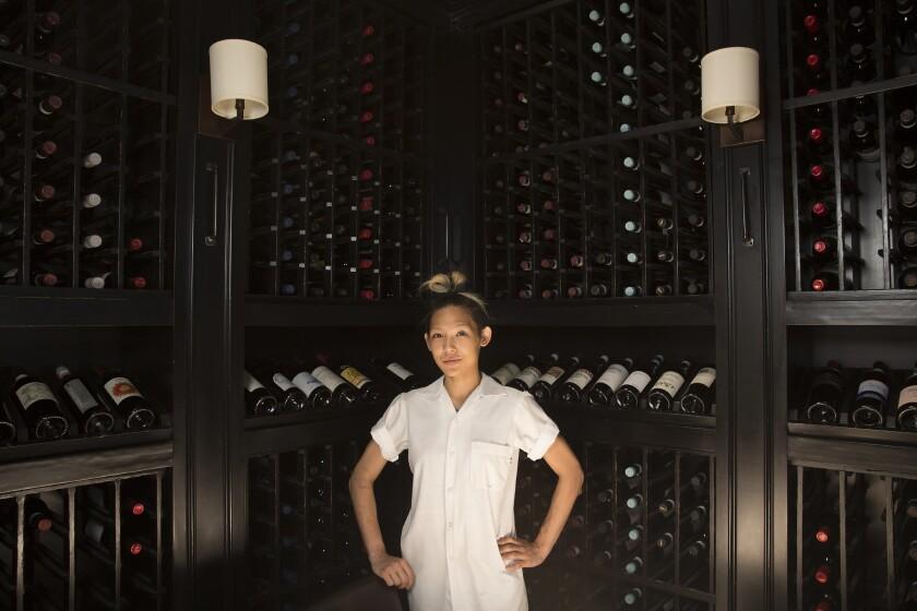 Osteria Mozza executive chef Liz Hong.