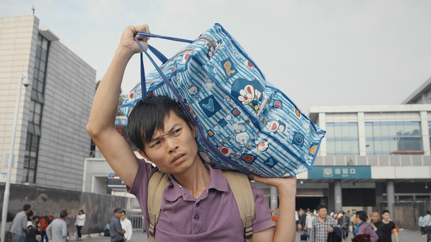 "Wu Niaoniao in the documentary ""Iron Moon."""