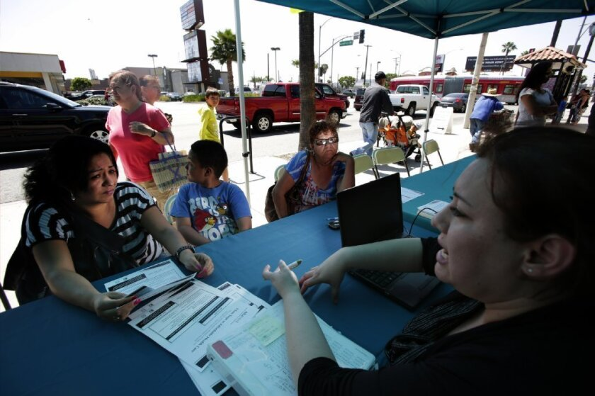 Obamacare enrollment nears 1.4 million in California