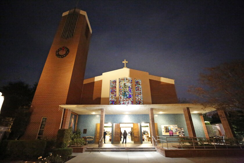 Holy Family Catholic Church in Artesia