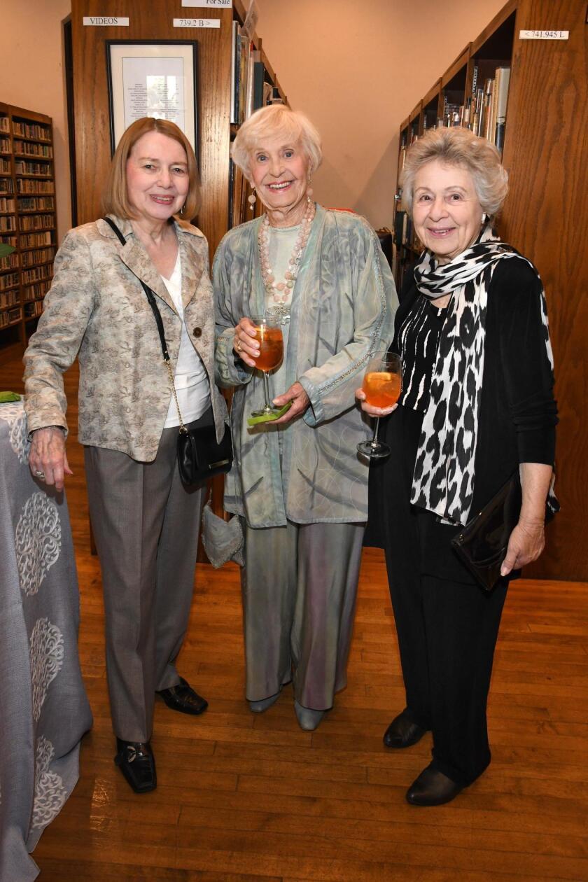 Judith Bachner, Sally Fuller, Pat Shank