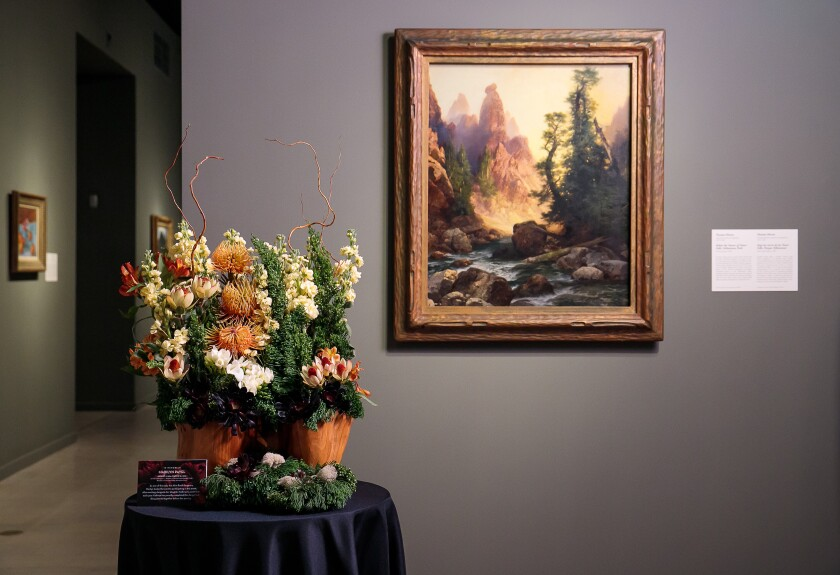 San Diego Museum of Art's Art Alive returns this week as an in-person event.
