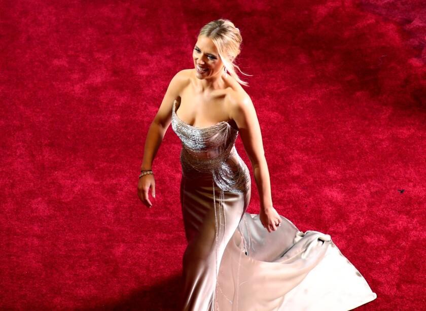 En la imagen un registro de la actriz estadounidense Scarlett Johansson