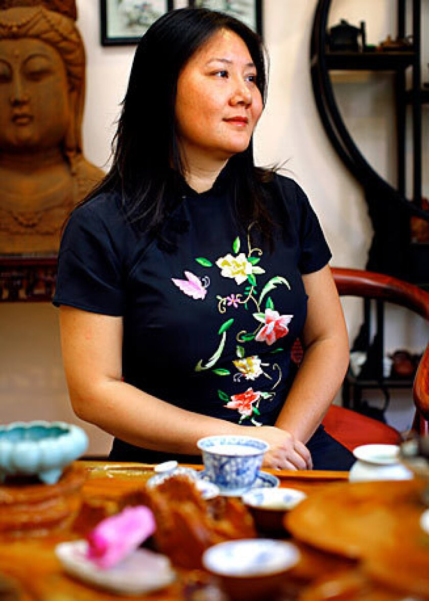 """""""There's a transcending level of this tea. It's a very personal, life-altering experience,"""" Imen Shan says."""