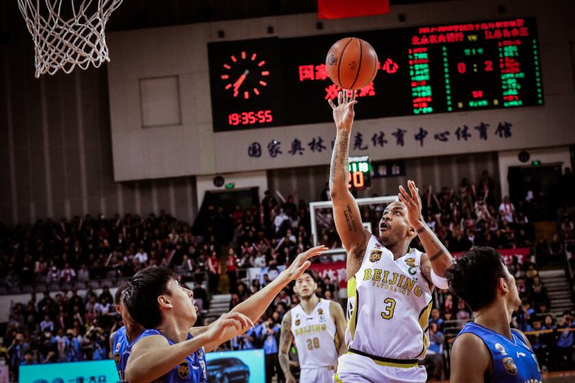 Stephon Marbury playing For Beijing during the 2018-18 season in the documentary 'A Kid From Coney Island'