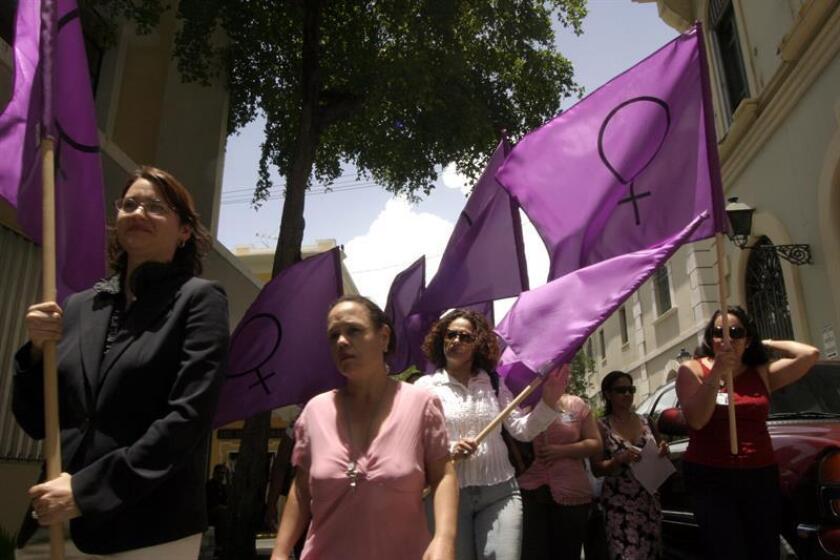 Solo una mínima parte de las agresiones sexuales en Puerto Rico son denunciadas, motivo por el que activistas de los derechos humanos impulsan que las víctimas reporten estas agresiones. EFE/Archivo