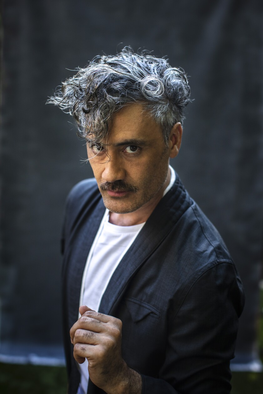Filmmaker Taika Waititi, the director and co-star of 'Jojo Rabbit'