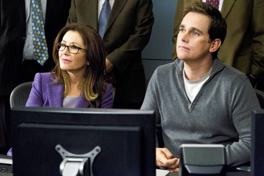 """Mary McDonnell and Phillip P. Keene star in """"Major Crimes."""""""