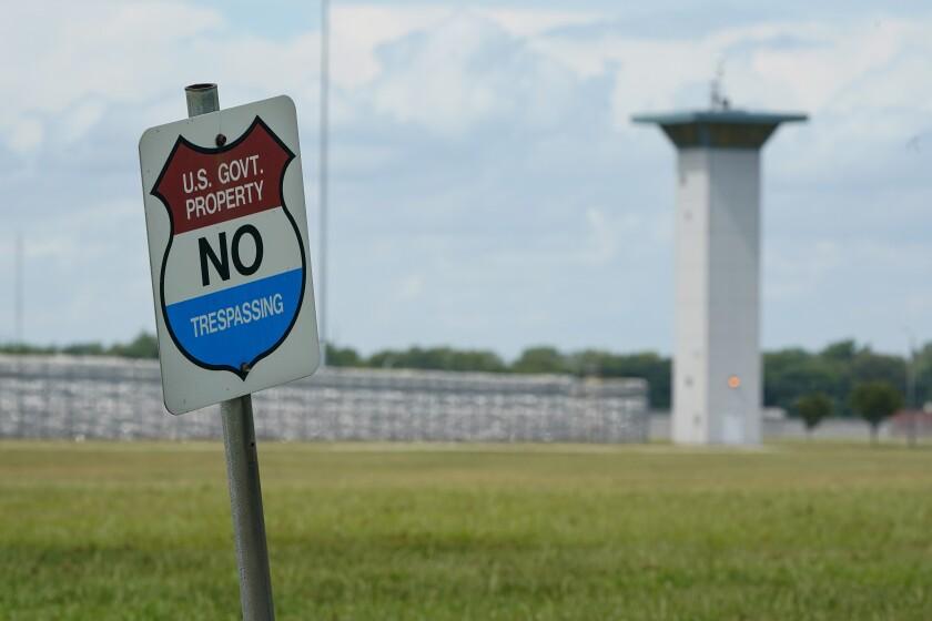 Federal prison in Terre Haute, Ind.