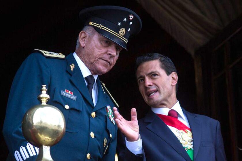 Salvador Cienfuegos, ex secretario de Defensa de México, detenido en Los Ángeles