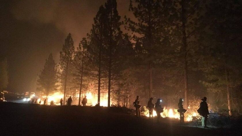 Camp Fire in Northern California, the state's deadliest wildfire, USA - 19 Nov 2018