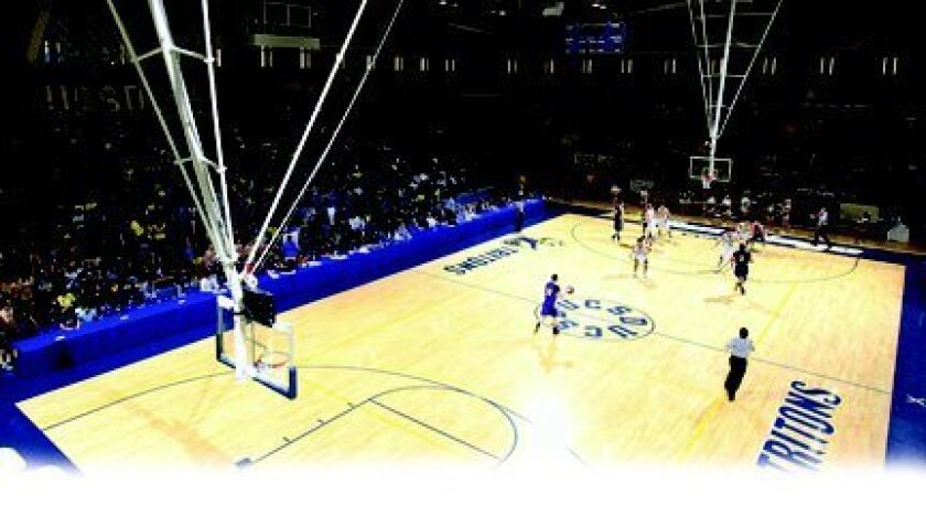 UCSD has most of the facilities to move to Division I, including the RIMAC Arena.