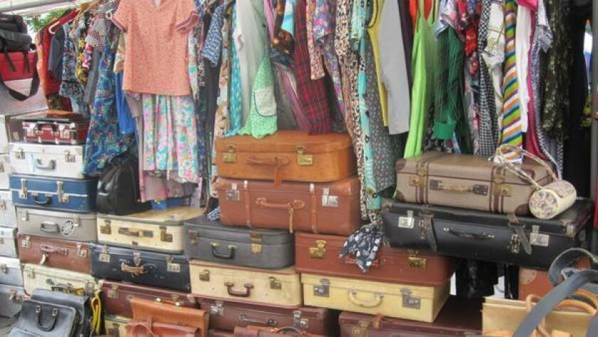 Calling all vintage-enthusiasts and lovers of unique goods! The San Diego Vintage Flea Market will be in town. The outdoor market will span across University Ave. connecting the community of vintage connoisseurs within San Diego. Hit the street to sift through clothing, furniture, records, books and more. -Liz Bowen 9 a.m. Sunday. Free to attend. 2891 University Ave., North Park. sdvintagefleamarket.com (wendyjamesdesigns.com)