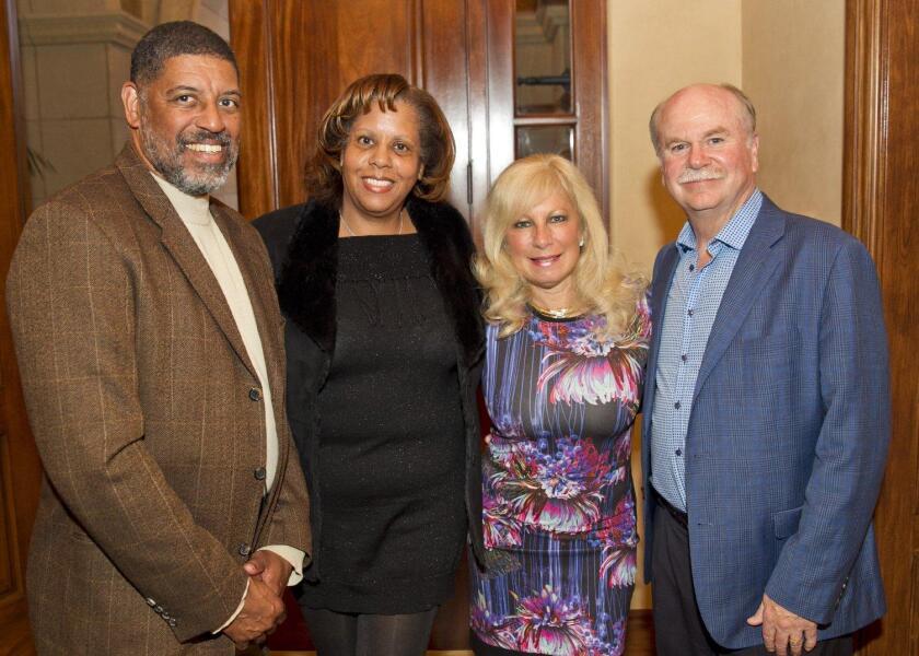 James and Kimberly King, Gina and Al Jordan