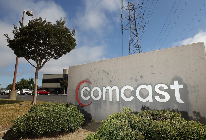Collectively, the top cable companies now have more broadband subscribers than TV subscribers, a report Friday said.