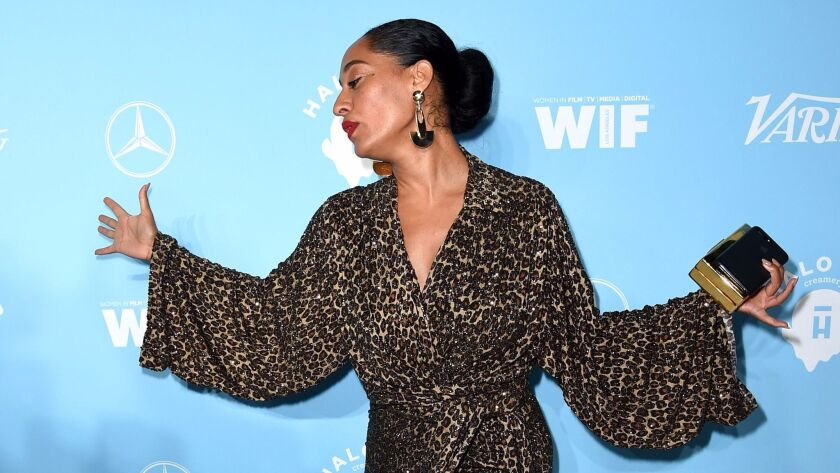 Tracee Ellis Ross at the Variety and Women in Film Emmy Nominee Celebration.