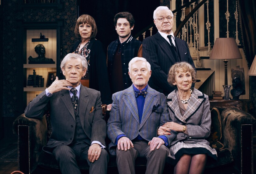 """The cast of PBS' """"Vicious"""""""
