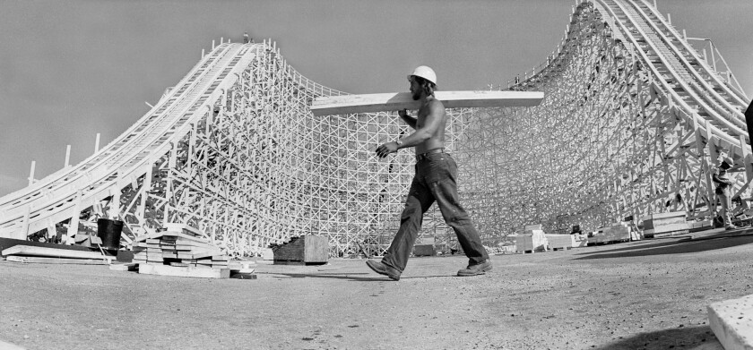 When it was built in 1978, Magic Mountain's Colossus was billed as the world's tallest and fastest roller coaster.