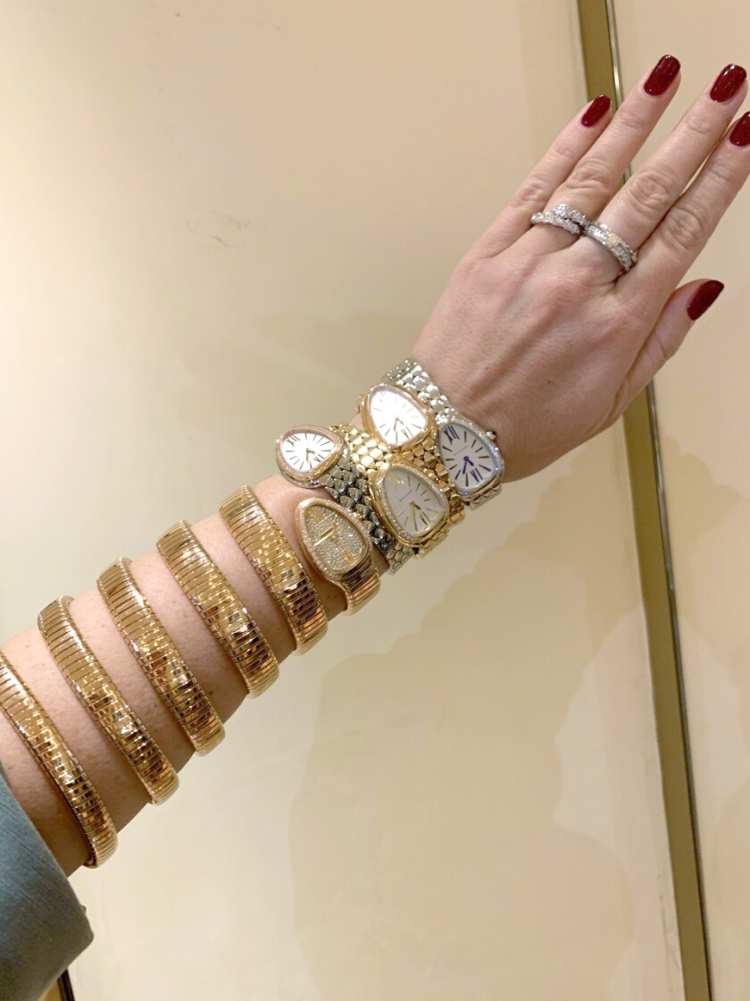 Bulgari jeweled watches