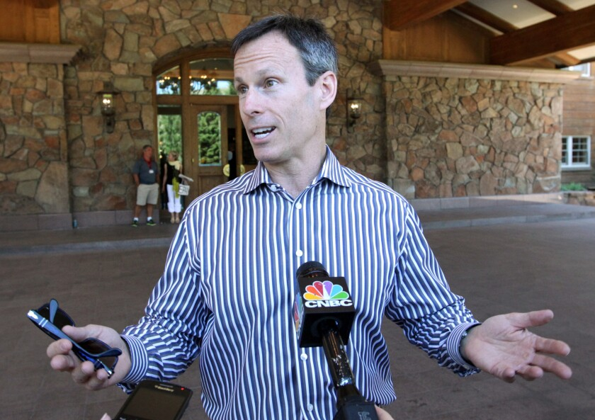 Walt Disney Co. Chief Operating Officer Thomas Staggs, shown in 2013, is leaving his post in May.
