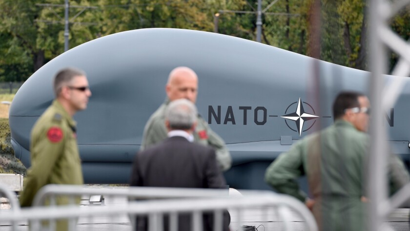 NATO drone