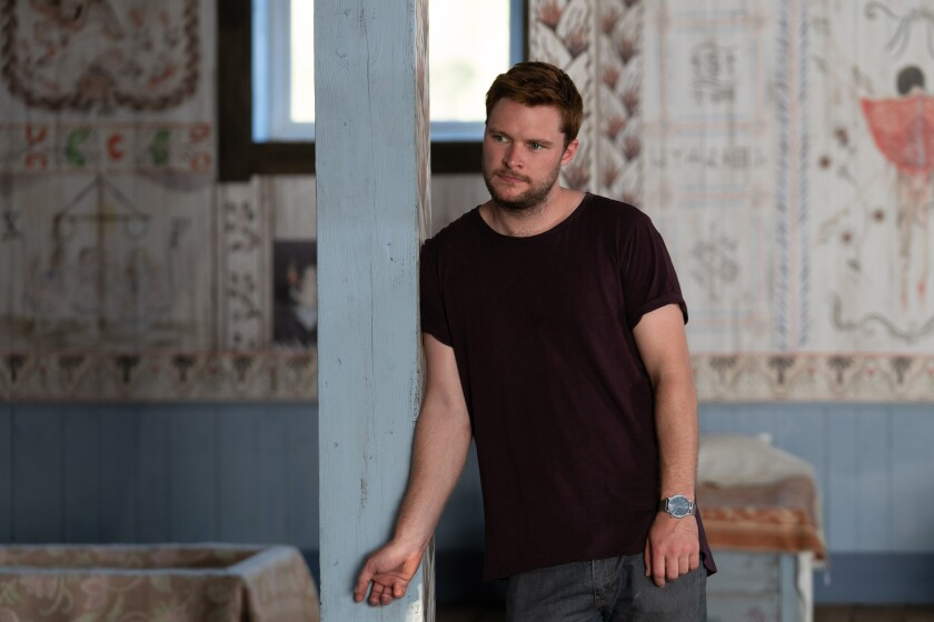 "Jack Reynor in a scene from ""Midsommar."" Credit: Merie Weismiller Wallace/A24"