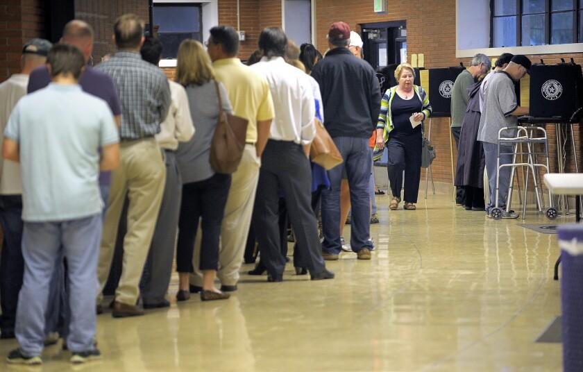 Election 2014: Texas voting