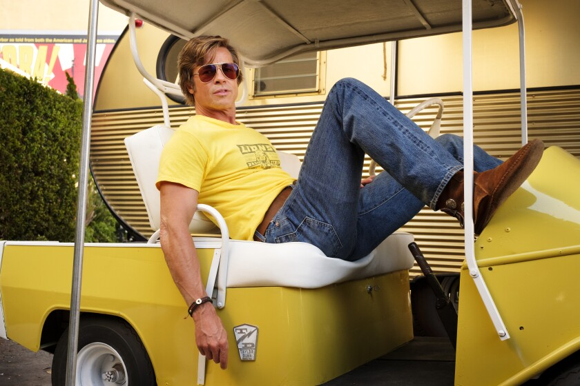 "Brad Pitt in ""Once Upon a Time... in Hollywood"""