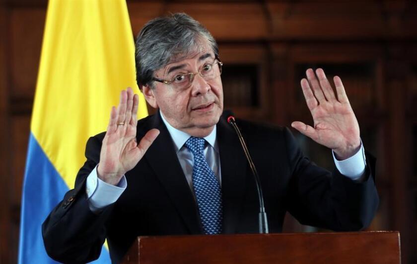 El canciller de Colombia, Carlos Holmes Trujillo. EFE/Archivo