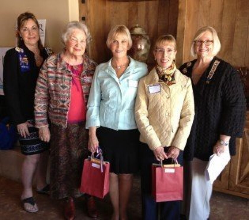 Bettybob Williams, Harriet Steele, Susan Woolley, Catherine Stout and Marti Meiners