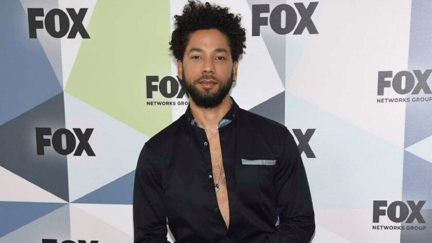 """""""Empire"""" star Jussie Smollett talked to """"Good Morning America's"""" Robin Roberts about the Jan. 29 attack."""