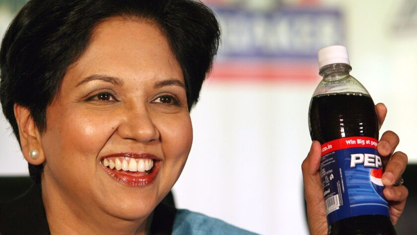 Indra K. Nooyi is chief executive of PepsiCo and one of the highest-ranked female leaders in corporate America.