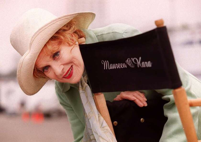 TCM will pay tribute to the legendary actress Maureen O'Hara on Nov. 20.