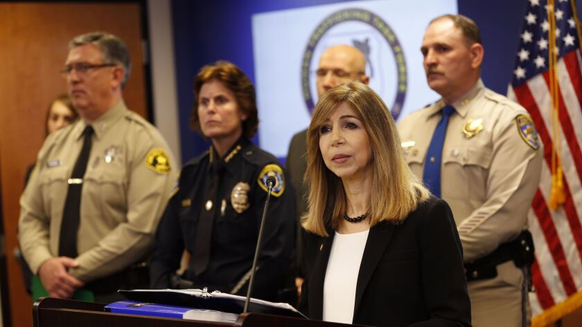 Summer Stephan at news conference