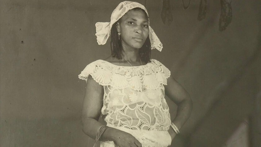 A photo of Mâ Brêh from the documentary 'The Two Faces of a Bamileke Woman'