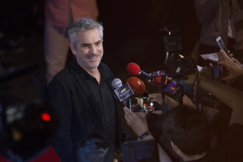 El cineasta mexicano Alfonso Cuarón. EFE/Archivo