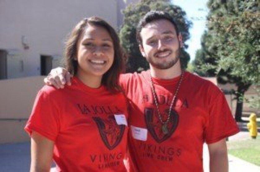 Zoe Rashid and David schultz are link crew leaders.