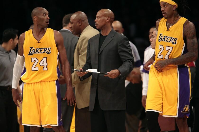 Kobe Bryant, Byron Scott
