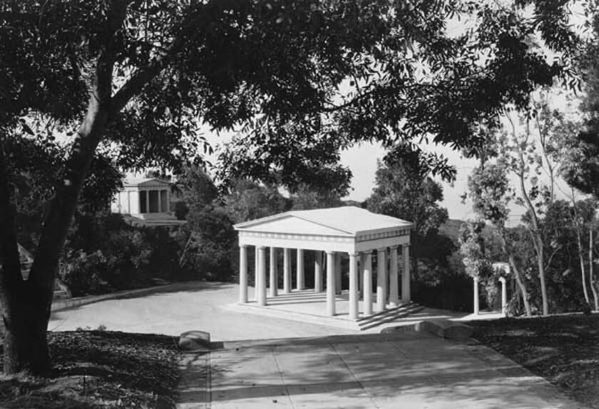 "The Greek Theater, ""the crest jewel of Point Loma,"" was the first of its kind in the United States."