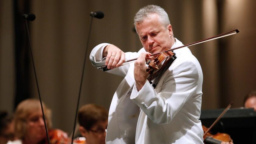 L.A. Phil concertmaster Martin Chalifour.