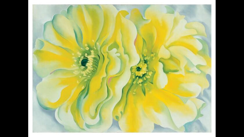 """Yellow Cactus"" by Georgia O'Keeffe"