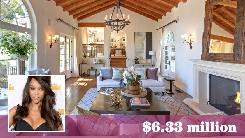 Model and TV personality Tyra Banks has sold her estate in Beverly Hills for $6.33 million.