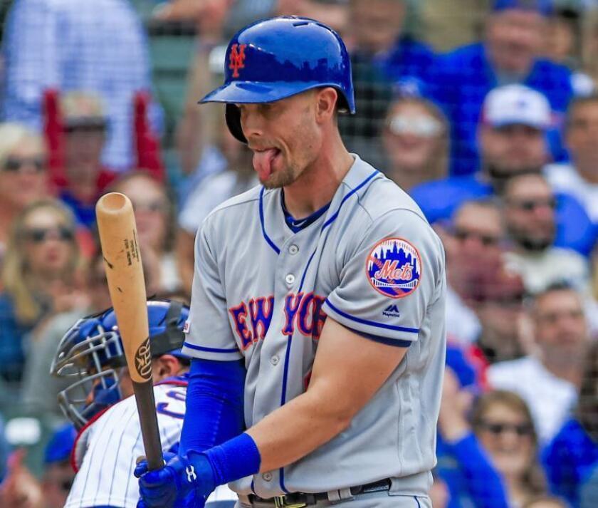En la imagen, el jugador de los Mets de Nueva York Jeff McNeil. EFE/Tannen Maury/Archivo