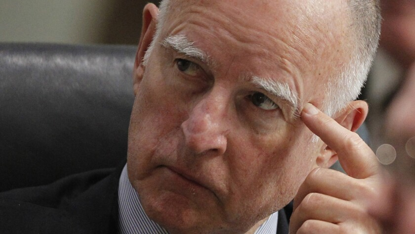 Gov. Jerry Brown had released a list of 105 people who received Christmas pardons.