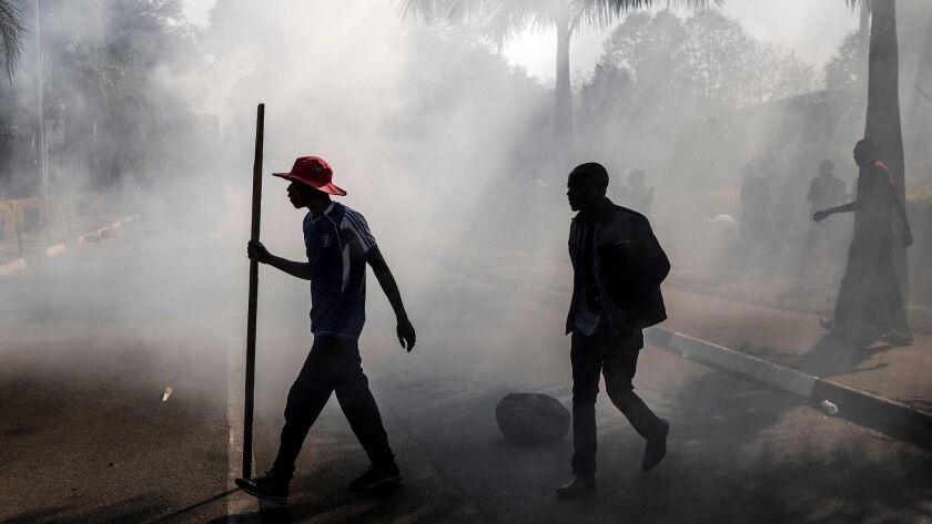 ZIMBABWE-VOTE-UNREST