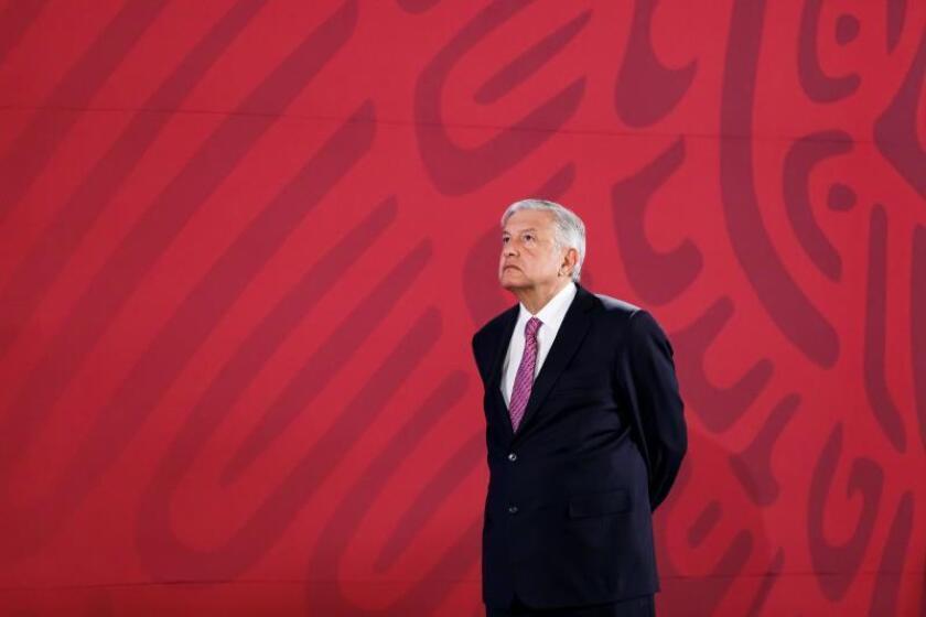 """López Obrador: México impide el """"libre paso"""" de migrantes por su """"seguridad"""""""